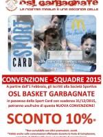 McDonald's - Convenzione 2015